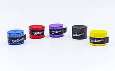 Обмотка на ручку ракетки Wilson  WGP60, фото 3