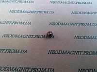 Магнитный шар цвет тёмный никель