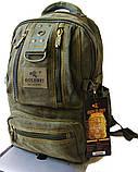 Рюкзак из холста GOLD BE. Городской рюкзак. Стильный рюкзак. Молодёжный рюкзак. Качественный рюкзак., фото 2