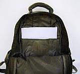 Рюкзак из холста GOLD BE. Городской рюкзак. Стильный рюкзак. Молодёжный рюкзак. Качественный рюкзак., фото 8