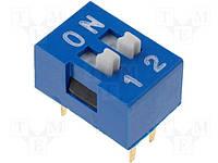 Переключатель SWD1-2 dip4 (ds-02) (160-DS02B)