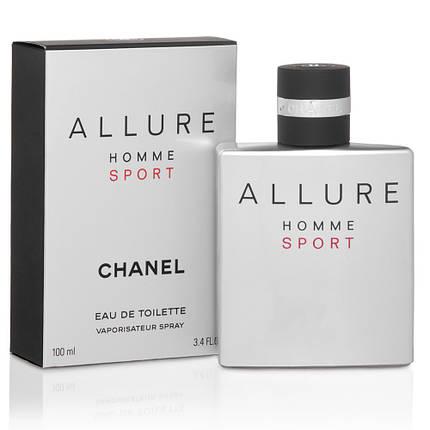 Chanel Allure Homme Sport туалетная вода 100 ml. (Шанель Аллюр Хом Спорт), фото 2