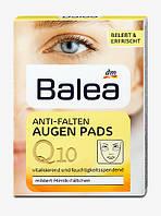 Balea Q10 Anti-Falten Augen Pads - Подушечки Q10 против морщин вокруг глаз 12 шт.