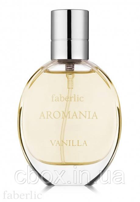 Туалетная вода женская Aromania Vanilla, Faberlic, Аромания Ванилла, Фаберлик, 3029, 30 мл