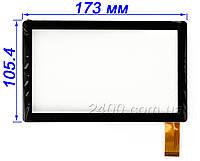 Сенсор, тачскрин Bravis NP71 (тип 1), Jeka JK-701 NP713 ZJ-70010A Allwinner A13 (Q88) экран, фото 1