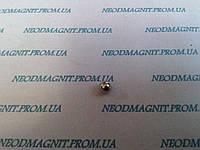 Магнитный шар цвет никель