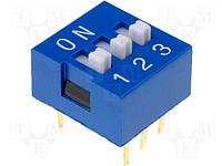 Переключатель SWD1-3 dip6 (DS-03) (160-DS03B)