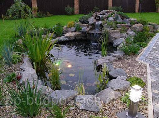Ландшафтний дизайн: водойма