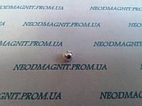 Магнитный шар цвет серебро