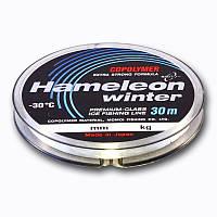 Зимняя леска Hameleon Winter 0.19mm 30m