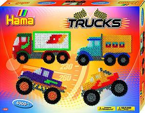 Термомозаика HAMA Большой набор Машины та грузовики