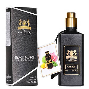 Унисекс мини-парфюм Alexandre J Black Muscs (Черный Мускус), 60 мл