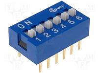Переключатель SWD1-6 (160-DS06B) (DS-06)