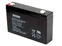 Аккумуляторная батарея MOTOMA 7 ач  6 в