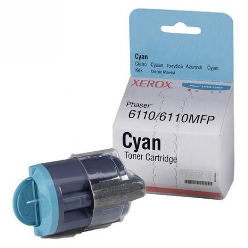 Тонер картридж Xerox PH6110 Cyan