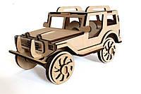 Изделия из дерева 3D пазл Jeep, Резанок