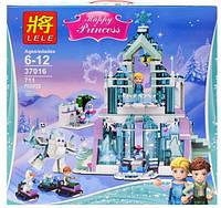 Конструктор для девочки Frozen Замок Ельзы 37016, фото 1
