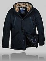 Мужская зимняя куртка Malidinu 4506 Чёрная