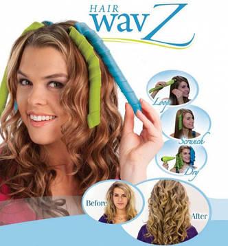 Волшебные бигуди HAIR WAVZ, фото 2
