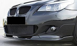Накладка губа на бампер М-пакет BMW 5 series E60