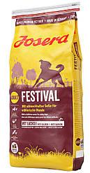Josera Dog Festival гипоаллергенный корм для собак (лосось и рис)15кг