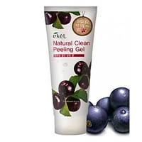Пилинг-крем с экстрактом ягоды Асаи EKEL NATURAL CLEAN PEELING GEL ACAI BERRY, оригинал