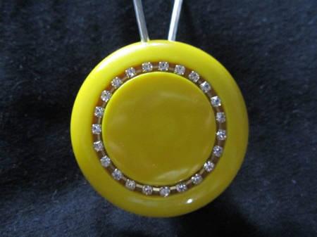 Магнит-подхват для штор ручной работы Б2 круг