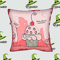 Подушка Моей любимой сладкоежке