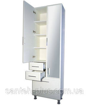 Пенал для ванной комнаты большой 60 см П6/4, фото 2