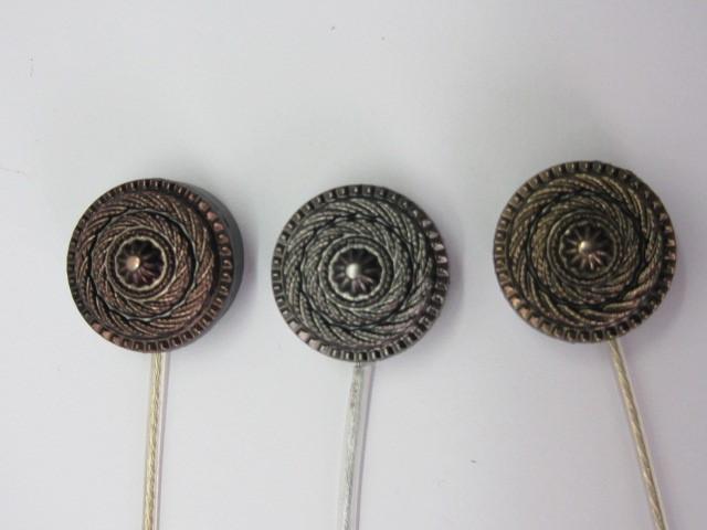Магнит-подхват для штор ручной работы Спираль двухсторонняя
