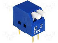 Переключатель SWD3-2 dip4 (DP-02) (160-DP02B)