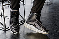 Nike Air Max 97 Mid Black by Ricardo Tasci черные ,унисекс (мужские,женские,десткие)