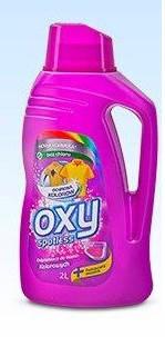 Пятновыводитель Oxy spotless Weiss для цветных тканей 2л. Польша, фото 2