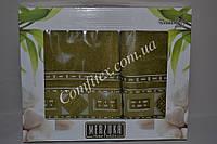 "Комплект бамбуковых полотенец Merzuka Bamboo Gold ""Green"" (Баня, лицо) Бамбук - Турция 2135"