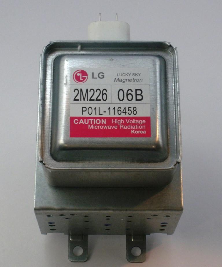 Магнетрон для микроволновой печи Lg 2M226-06В