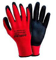 Перчатки трикотажные с нитриловым покрытием (манжет) размер 10 Sigma (9443481)