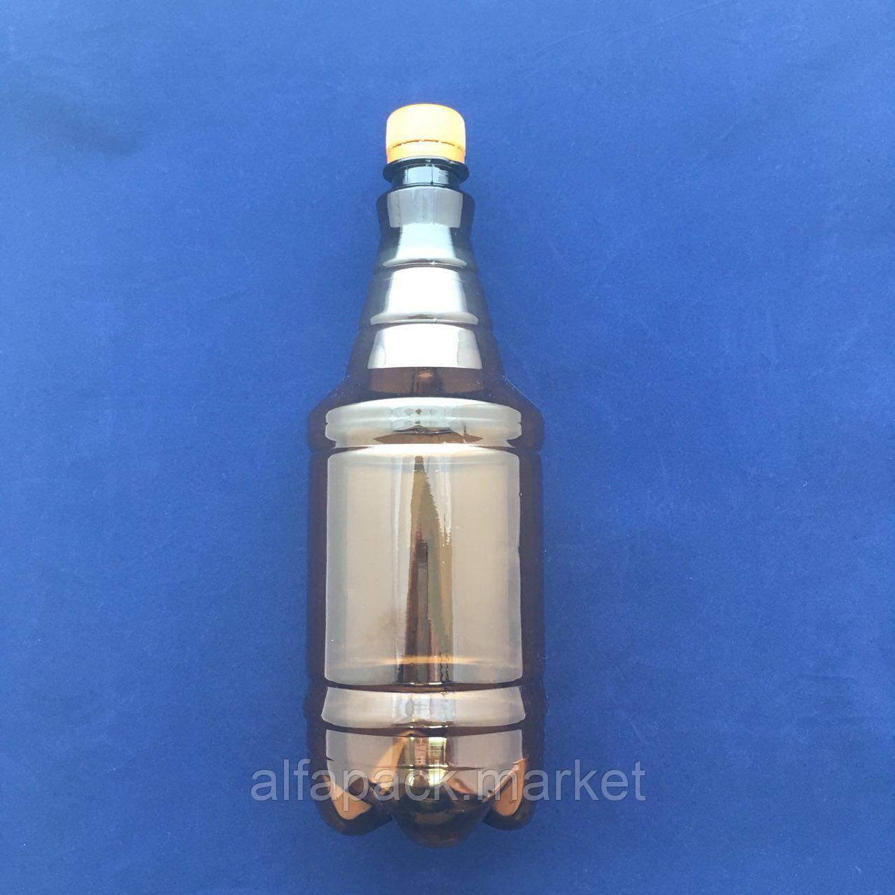 Бутылка пластиковая 1 л., гранат