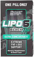 Жиросжигатель Nutrex Lipo-6 Black Hers Ultra Concentrate 60 порц.