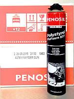 Пена-клей Gun Penosil Prem полистирол FixFoam 877 А3781 (750 мл)