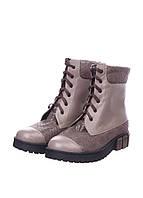 Ботинки зимние женские на шнуровке. Большой выбор обуви на сайте saxo.com.ua