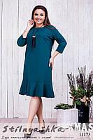 Стильное платье для полных Подарок бутылка, фото 1