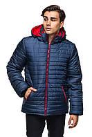 Мужская зимняя куртка с капюшоном.
