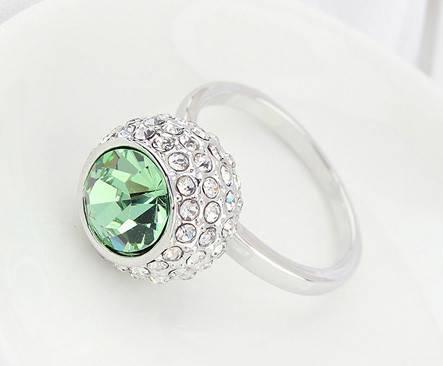 Кольцо с кристаллами Сваровски rs-88  , фото 2