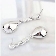 Серьги с кристаллами Сваровски es30, фото 2