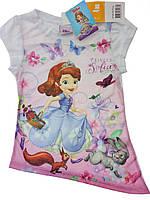Очень красивая футболка на девочку
