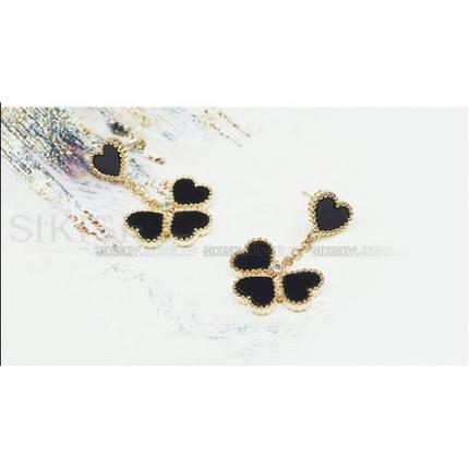 Серьги с кристаллами Сваровски es176, фото 2