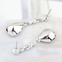 Серьги с кристаллами Сваровски es248, фото 2