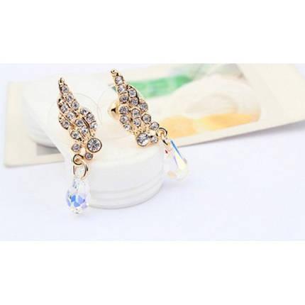 Серьги с кристаллами Сваровски es244, фото 2