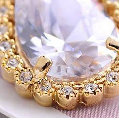 Серьги с кристаллами Сваровски es247, фото 2