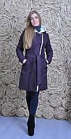 Пальто утепленное на зиму